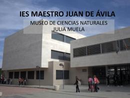 IES MAESTRO JUAN DE ÁVILA