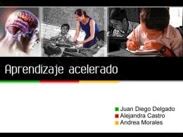 Aprendizaje acelerado - Ciencia Tecnología y