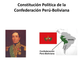 Constitución Política de la Confederación
