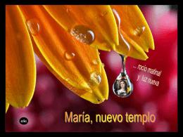 María, rocío matinal