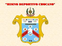 HIMNO DE LÑA PROMOCION