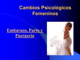 Cambios Psicológicos Femeninos