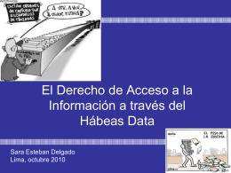 El Derecho de Acceso a la Información a través del