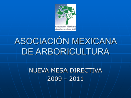 ASOCIACIÓN MEXICANA DE ARBORICULTURA