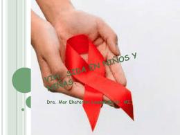 VIH- SIDA EN NIÑOS Y NIÑAS.