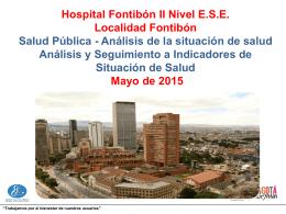 Diapositiva 1 - Hospital Fontibón ESE