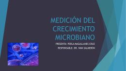 MEDICIÓN DEL CRECIMIENTO MICROBIANO
