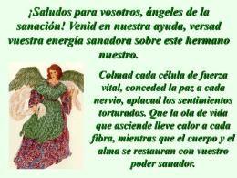 Oración a los Ángeles Sanadores