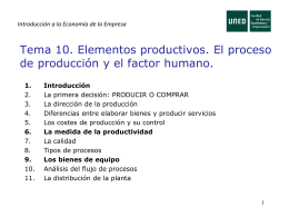 Economía de la Empresa I