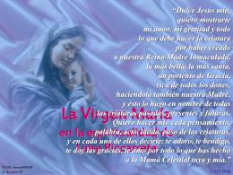 La Virgen María en la espiritualidad de Luisa