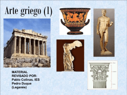 El arte griego - Materiales didácticos adaptados