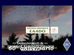 La fundación de la Unión de Radioaficionados