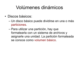 Volumenes dinámicos