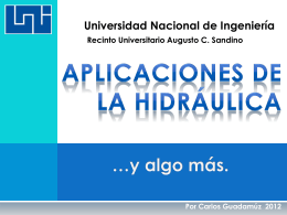 Estudio Hidrológico - Ing. Edson Rodríguez