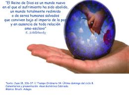 Jesús, Rey del Universo