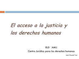 Interpretación Jurídica (principios y derechos