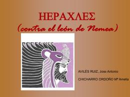 HERACLES (contra el león de Nemea)