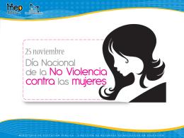 25 noviembre - Ministerio de Educación Pública