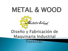 Diseño y fabricación de maquinaria industrial