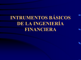 INTRODUCCIÓN A LA INGENIERÍA FINANCIERA