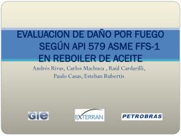 EVALUACION DE DAÑO POR FUEGO SEGÚN API 579 ASME