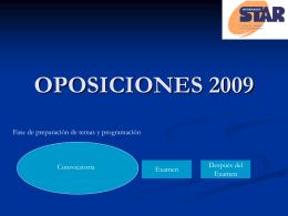 AÑO DE OPOSICIONES