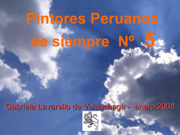 5 PINTORES PERUANOS Nº 5
