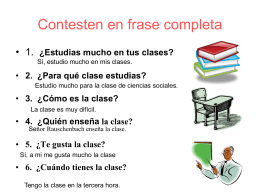 ¿Qué significa? Translate the following sentences