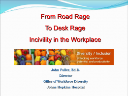9-Incivility in the Workplace