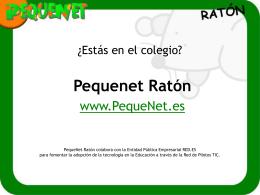 Presentación de www.pequenet.com