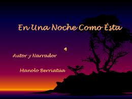 Diapositiva 1 - LA WEB DE MANOLO BERRIATÚA