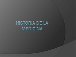 Historia de la Medicina - Salud Pública 101 | Just