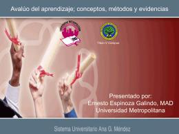 Objetivos del curso - Sistema Universitario Ana G.