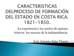 CARACTERISTICAS DELPROCESO DE FORMACIÓN DEL ESTADO