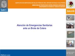 Diapositiva 1 - Secretaría de Salud del Estado de