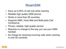 RoamSIM 20070711