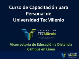 Curso de Capacitación para Personal de Universidad