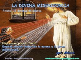Jesús y su Divina Misericordia