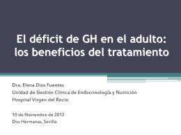 El déficit de GH en el adulto: los beneficios del