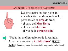 BAUTISMO, 1 - CAMINANDO CON JESUS