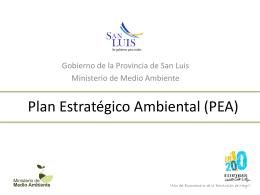 Plan Estratégico Ambiental