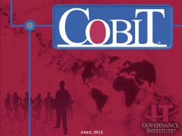 COBIT Mejores prácticas de Tecnologías