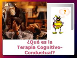 ¿Qué es la Terapia Cognitivo