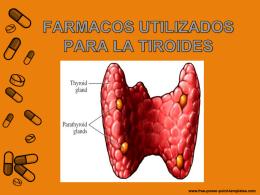 Fármacos en Tratamiento de Enfermedades Tiroideas