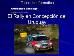 El Rally en Concepción del Uruguay