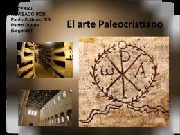 El arte Paleocristiano - Materiales didácticos