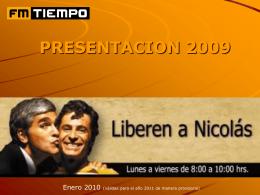 PROGRAMACIÓN RADIO ROMANTICA 2006