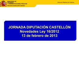 Diapositiva 1 - Diputación de Castellón