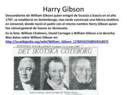 Harry Gibson - Asociación Venezolana de Palmas