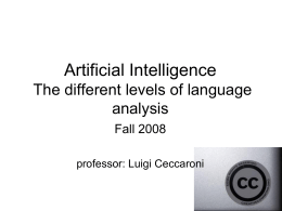 Artificial intelligence - Universitat Politècnica